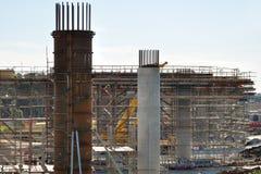 frankston перепуска здания моста Стоковое Изображение
