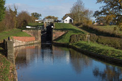 Frankton Locks Stock Images