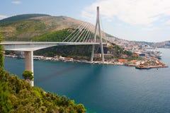 FrankTudman's Bridge. Frank Tudman's Bridge in Dubrovnik (Croatia Stock Photo