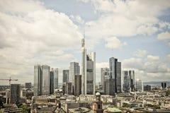 Frankurt Skyline Stock Photography