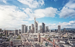 Frankurt Skyline Royalty Free Stock Image