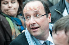 François hollande Royalty Free Stock Images