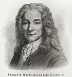 François Marie Voltaire Royalty Free Stock Images