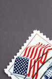 Franqueo de los E.E.U.U. de la vendimia fotos de archivo
