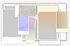 Franqueo-estampa ilustración del vector