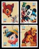 Franqueo Stampa del carácter de los E.E.U.U. Disney Imágenes de archivo libres de regalías