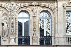 Frans balkon stock fotografie
