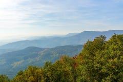 Frans berglandschap royalty-vrije stock foto