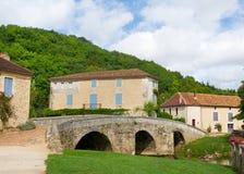 Frans dorp royalty-vrije stock foto