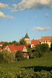 Frans dorp Stock Afbeeldingen