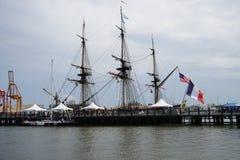 Frans Fregat Hermione 2014 8 royalty-vrije stock afbeeldingen