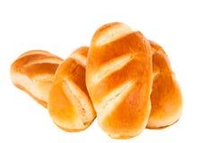 Frans geïsoleerd broodje royalty-vrije stock afbeeldingen