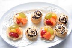 Frans gebakje royalty-vrije stock foto's
