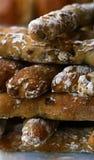 Frans gezond organisch brood Royalty-vrije Stock Afbeeldingen