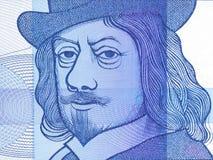 Frans Hals-portret stock afbeelding