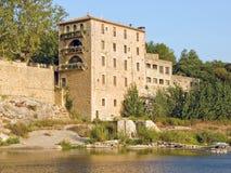 Frans Hotel in de Provence Stock Foto's