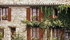 Frans huis stock afbeeldingen