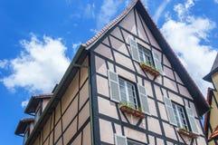 Frans huis Royalty-vrije Stock Foto's