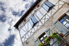 Frans huis Stock Foto