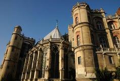 Frans kasteel Royalty-vrije Stock Afbeeldingen