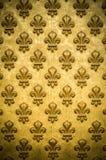 Frans Koninklijk Bloempatroon Als achtergrond stock afbeeldingen