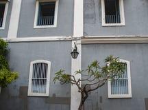 Frans Kwart van Pondicherry, India royalty-vrije stock foto