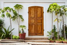 Frans Kwart van Pondicherry, India stock afbeelding
