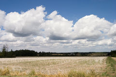 Frans landschap Stock Foto