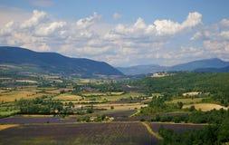 Frans landschap: in de Provence Stock Afbeeldingen