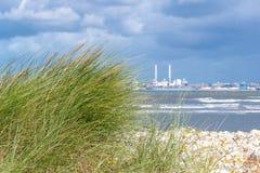 Frans landschap - Normandie stock afbeeldingen
