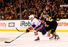 Frans Nielsen New York Islanders. New York Islanders center Frans Nielsen #51 royalty free stock photos