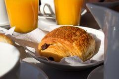 Frans ontbijt royalty-vrije stock foto