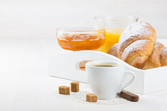 Frans ontbijt Stock Foto's