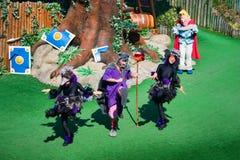 Frans-park de asterix-show Royalty-vrije Stock Foto's