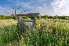 Frans platteland - Lotharingen royalty-vrije stock foto