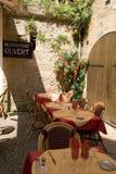 Frans restaurant Stock Foto