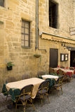 Frans restaurant Stock Afbeelding