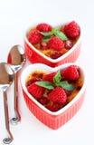 Frans room brulee dessert royalty-vrije stock foto