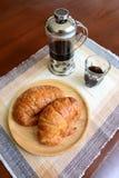 Frans stijlontbijt Royalty-vrije Stock Foto's