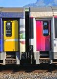 Frans treinvervoer royalty-vrije stock foto's