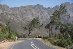 Franschhoek通行证西开普省南非 图库摄影