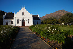 Franschhoek Colonial Church Stock Image