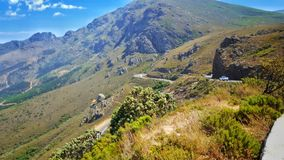 Franschhoek Pass viewing Stock Images