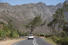 The Franschhoek Pass Western cape South Africa Stock Photos