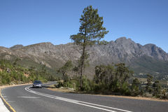 The Franschhoek Pass Western cape South Africa Stock Photography