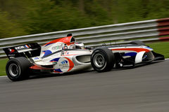 Franse a1 gp raceauto Royalty-vrije Stock Afbeelding