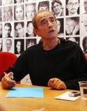Franse acteur en regisseur Richard Bohringer Royalty-vrije Stock Afbeeldingen