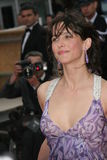 Franse actrice Sophie Marceau Royalty-vrije Stock Foto
