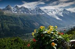 Franse Alpen Royalty-vrije Stock Afbeeldingen