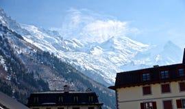 Franse Alpen Stock Foto